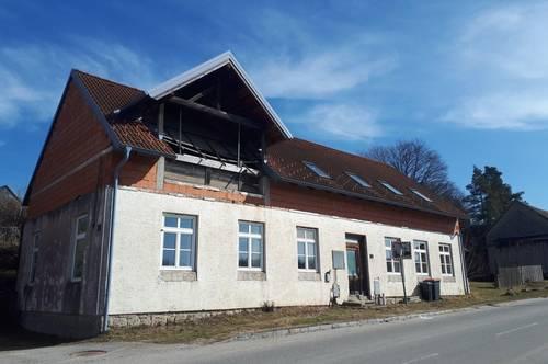 Ehemalige Volksschule nähe Litschau