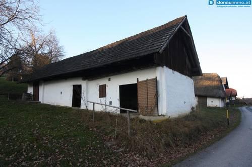historischer Weinkeller in Heiligenbrunn