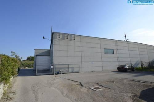 Betriebsliegenschaft mit Einheiten ab 200 m² für Lager u/o Produktion und Ihrem Traumgeschäft im Gewerbepark Krems