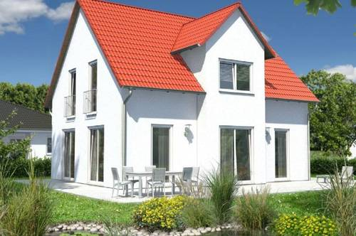 NEUBAU Einfamilienhaus inklusive großem Grundstück in Massivbauweiße (Schlüsselfertig)