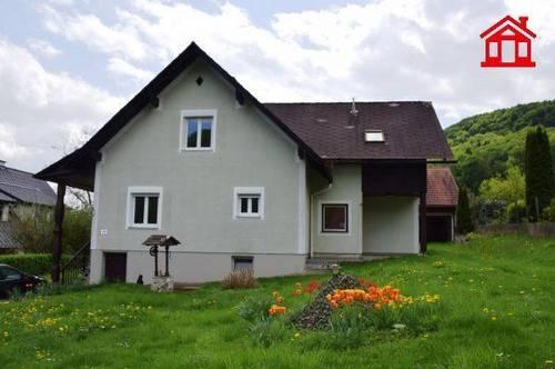 Einfamilienhaus mit schönem Garten in Wildon