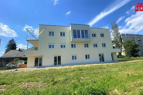 3-Zimmer Neubauwohnung in Liebenau mit Terrasse und Balkon