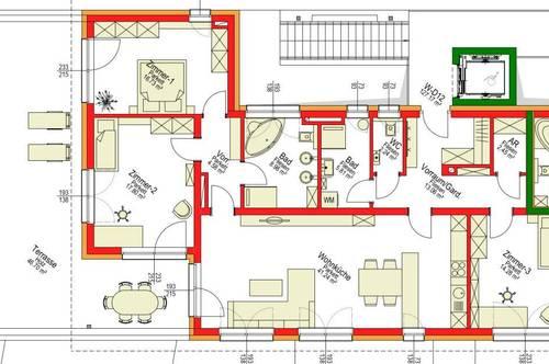 Wohnprojekt Schlossblick in Stainz/ Penthousewohnung/ Top 12 Haus D Typ 2E/ MIT LIFT
