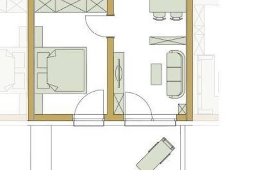 2-Zimmer Gartenwohnung in Stainz/ Haus A Typ 1B / Top 2