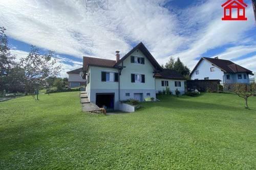 Sanierungsbedürftiges Einfamilienhaus mit großem Garten in Lannach