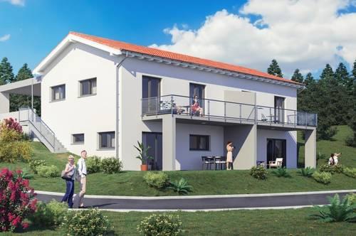 Moderne Doppelhaushälfte mit Doppelcarport in St. Stefan ob Stainz