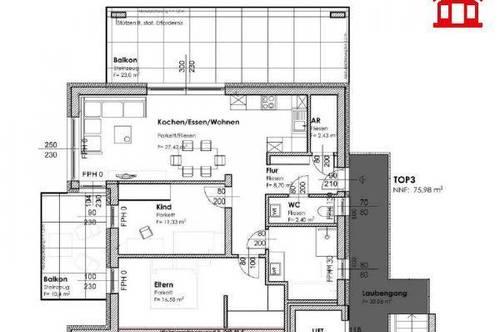 Neubau Eigentumswohnung in Graz-Puntigam/ Top 3
