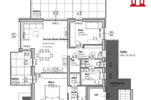 Neubau Eigentumswohnung in Graz-Puntigam/ Top 6