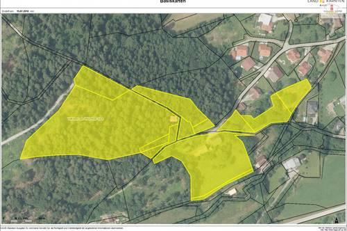 Älteres 200m² Wohnhaus mit altem Bauernhaus und Nebengebäude mit 2,88 Ha Grundstück in Velden - JETZT KAUFEN!
