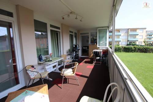 Tolle große 4 Zi Wohnung 140m² mit XXL Loggia in Feschnig mit Blick ins Grüne!