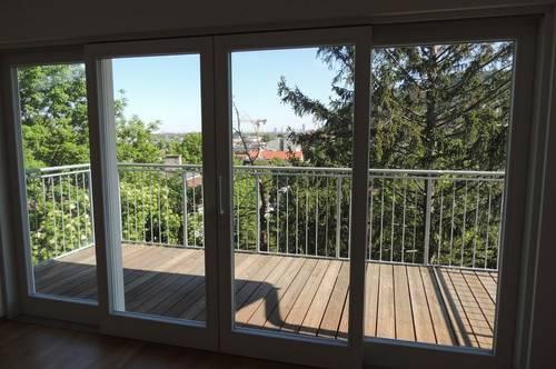 3400 Klosterneuburg, Zentrum, Villenlage mit GÜNBLICK und in absoluter Ruhelage! 3 Stock mit Lift, 145,19m2 Wohnfläche plus 25m2 Balkon/Terrassen, Euro 2237,32 inkl. BK/10%