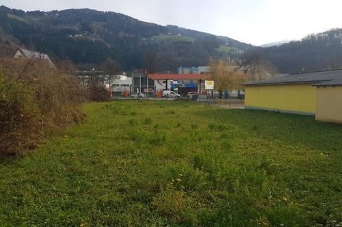 Sonniger ebener Baugrund im Zentrum von Wolfsberg ohne Bauverpflichtung