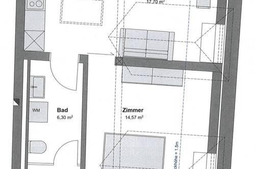 ERSTBEZUG - NEUE DACHGESCHOSSWOHNUNG NÄHE DPU ZU VERMIETEN
