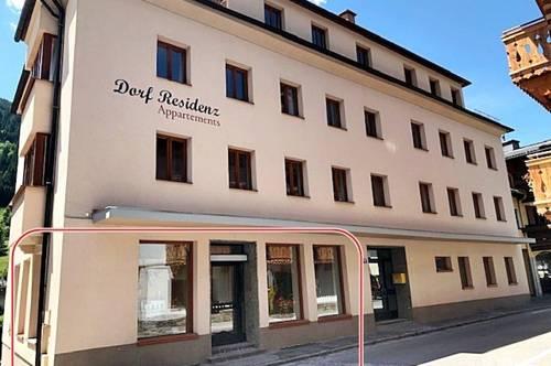 Zentrales Geschäftslokal in Dorfgastein