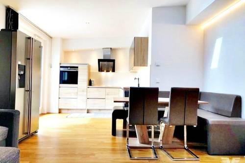 Exklusive 3-Zimmer-Dachgeschoss-Wohnung zum Mieten im Zentrum von Maria Alm