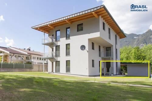 Maurach am Achensee (W1): Sonnige Garconniere mit Terrasse und Garten