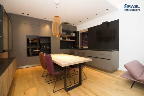 Vomp: Top ausgestattete 3-Zi.-Wohnung mit SW-Terrasse