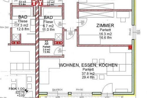 Villach Stadt neue LUXUS Terrassen Wohnung in Ruhelage mit Karawankenblick