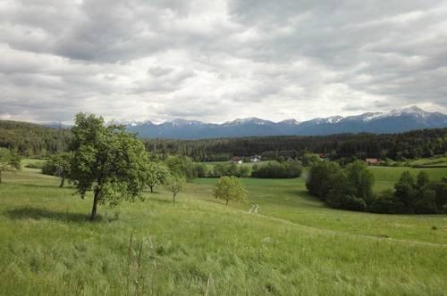Wernberg Baugrund mit Traumblick in Ruhelage