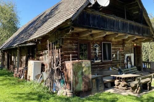 Uriger, alter Bauernhof in Alleinlage mit 9 ha Grund