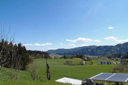 4 Zi.Wohnung + 586m² Garten! 2,5km Feldkirchen