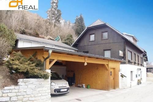 Treibach 8 km: sonnig großes Wohnhaus teilsaniert