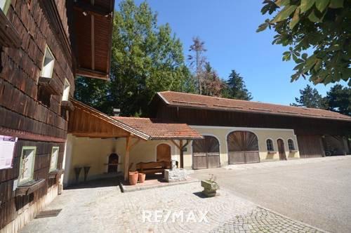 Geboren im 12. Jahrhundert als Edelsitz, zuletzt gelebt als Landgasthof, in Zukunft Ihr Landhaus.