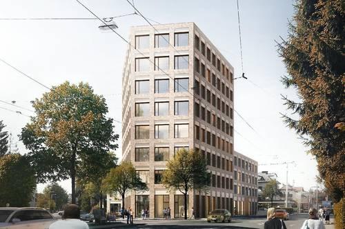 350 - 600 m² Büroflächen im neuen Landmark Salzburgs