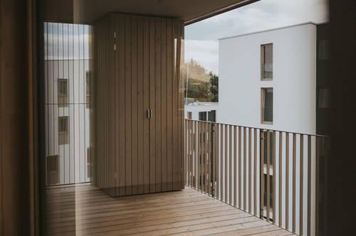 3 Zimmer Wohnung / großzügiger Balkon / Quartier Rauchmühle