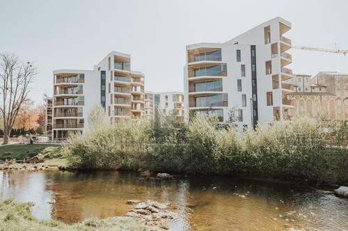 2-3 Zimmer Wohnungen mit Balkon oder Garten / Erstbezug / Quartier Rauchmühle