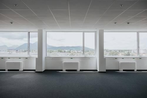 140 m² Büro mit Ausblick am STADTWERK