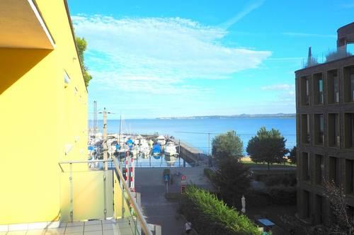 2-Zimmer-Wohnung mit Seeblick vom eigenen Balkon