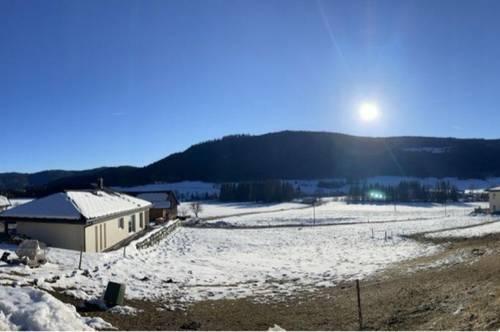 Schöner Baugrund Nähe Ski- und Wandergebiet