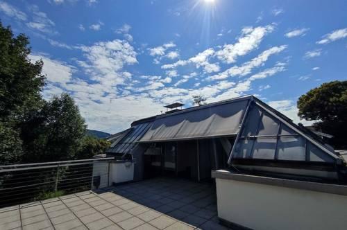 Wundervolle Ruheoase im Grünen mit Blick in die Bergwelt, exklusive 4 Zimmer Wohnung