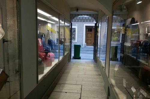 Geschäftslokal mitten in der Linzergasse