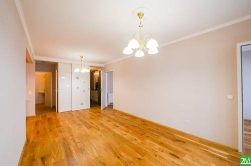 3-Zimmer-Neubauwohnung mit großer Loggia und Garagenplatz