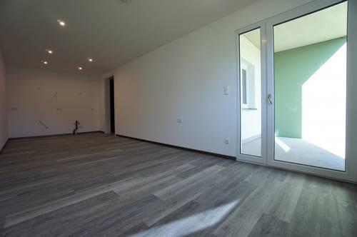 2-Zimmerwohnung in Hagenberg, 6,5 m² Loggia und 58 m² Garten, Erstbezug, Top 102