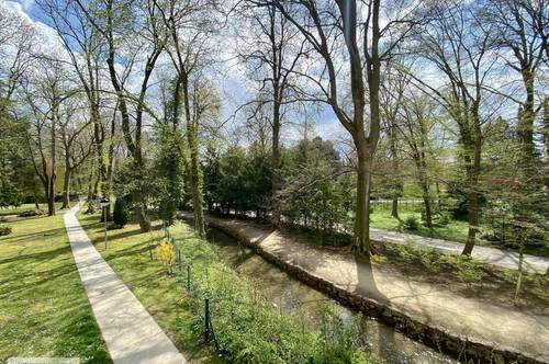 WOHNEN AM MÜHLBACH | traumhaft idyllische, sonnige Parklage | ROSARIUM | DOBLHOFFPARK