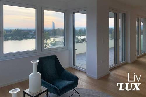 4 Zimmer - Erstbezug mit großer Terrasse! Freiheitsgefühl an der Alten Donau!