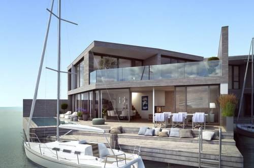 Modernes Seehaus mit Privat-Steg am Neusiedler See