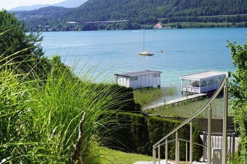 WÖRTHERSEE: 2-Zimmer Wohnung mit Seezugang