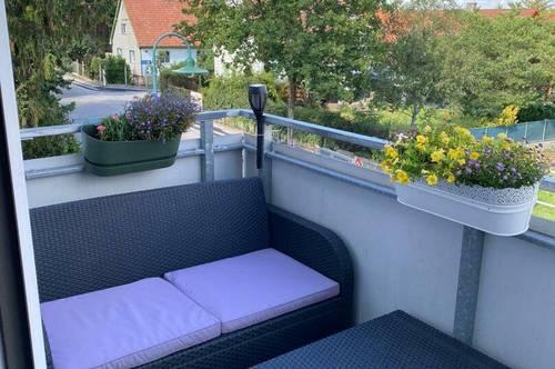 Freundliche & helle 3 Zimmer Neubau-Wohnung mit Loggia im Zentrum von Brunn am Gebirge