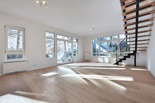 Upper West 119! 4-Zimmer-Garten-Maisonette mit Balkon und Terrasse