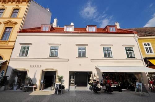 ERSTBEZUG im ZENTRUM! Dachgeschoß-Wohnung in entzückendem Stadthaus
