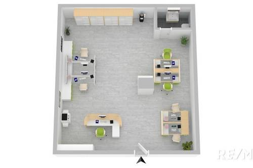 ***Super günstige Büro-Lager-Hobbyraumfläche mit eigenen Eingang!***