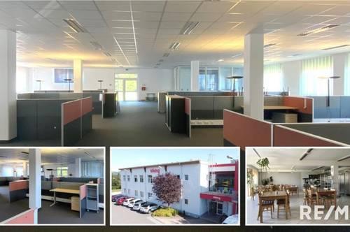 Modernes, schlüsselfertiges Großraumbüro mit top Infrastruktur in verkehrsgünstiger Lage