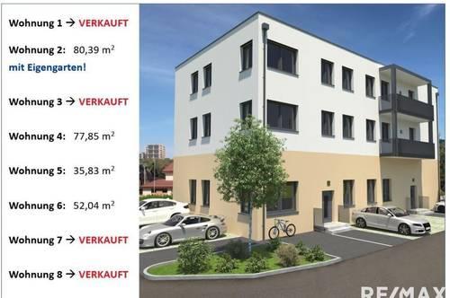 Erstbezug Gartenwohnung in Pregartner Top-Lage  (Top 2)