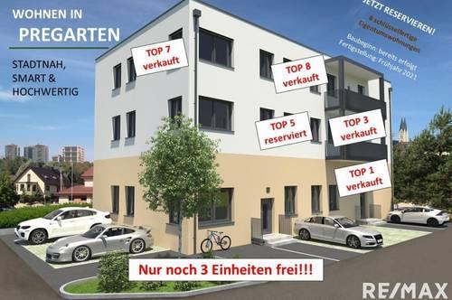 Eigentumswohnungen in Pregartner Top-Lage - noch 3 Einheiten frei!!!