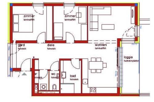 3-Zimmer - Neubauwohnung !