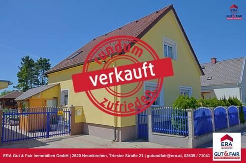 Einfamilienhaus in Siedlungslage - Felixdorf